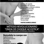 Folleto para buzoneo Clínica Fisioterapia NAVACLINIC en Catarroja