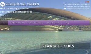 Responsive Design para Residencial Caldes en Valencia