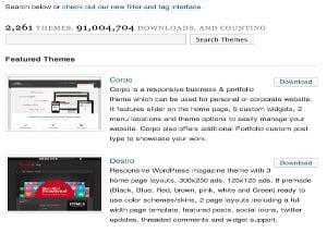 Encontrar Temas Gratis WordPress