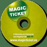 Diseño DVD Magic Ticket PrositiosWeb Valencia