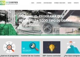 Programa gestion de costes de obras SCCOSTES