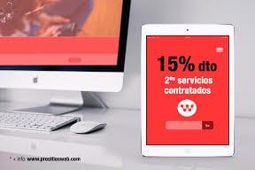 Promociones diseño web Valencia