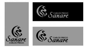 Clínica Sanare: tarjetas de presentación