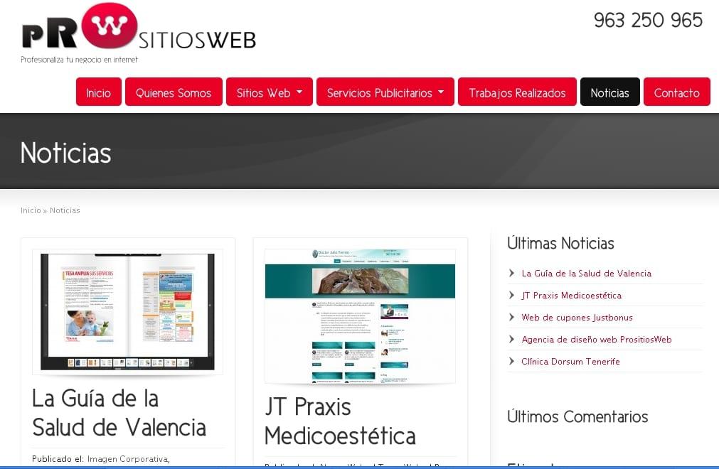Su agencia de diseño web y posicionamiento web en Valencia