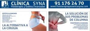 Clínica Fisiomar: Rótulo y vinilos