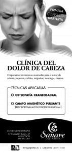 Folleto clínica Sanare_dolor_cabeza