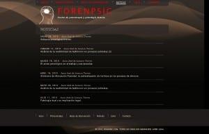 FORENPSIC, Noticias