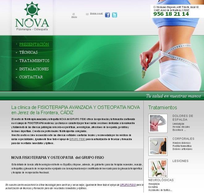 Clínica de Fisioterapia NOVA en Jerez
