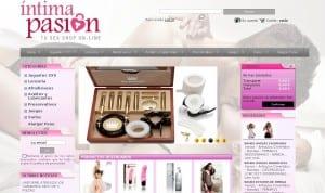 Diseño web Tienda Online juguetes para adultos