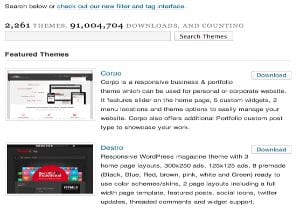 Encontrar Temas Gratis WordPress