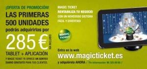 Folleto para Magic Ticket