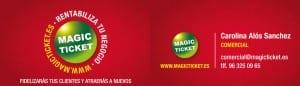 Tarjeta Magic Ticket