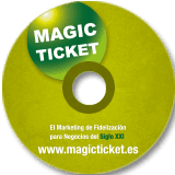 Diseño DVD Magic Ticket PrositiosWeb Valencia