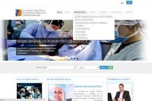 Web Directorio cirujanos plásticos de la Comunidad Valenciana
