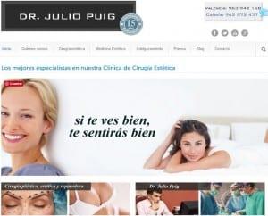 Web de clinica estetica Gandia y Valencia Dr. Puig