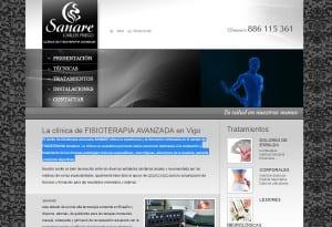 Sanare: Clinica fisioterapia Vigo