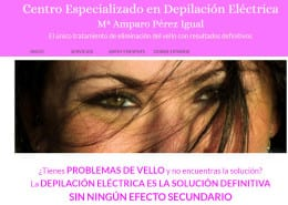 Depilacion electrica valencia Mª Amparo Pérez Igual
