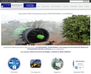 Diseño web de iteafpulverizadores.es