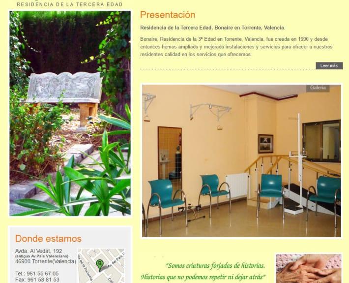 Residencia de ancinos BONAIRE en Torrente