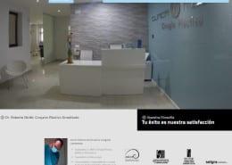 Diseño web Clínica de Estética Dr. Moltó