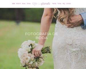 Diseño web Fotografo Valencia Rosa Planells