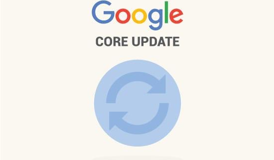imagen mostrando un dibujo sobre la actualización del algoritmo de Google.
