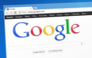 imagen de un navegador mostrando la pantalla de google. ¿Afecta la nueva actualización del algoritmo al SEO de los sitios web?