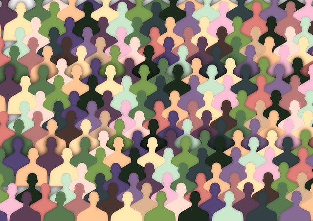 iconos de personas representando la audiencia de un sitio web.