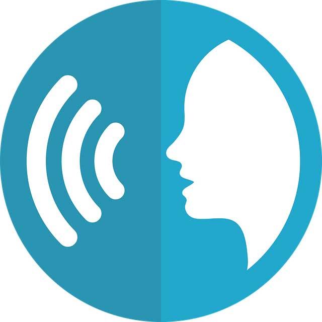 icono de búsqueda por voz