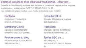 optimiza como apareces en los resultados de búsqueda.